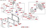 Радиатор охлаждения киа Спортейдж 4 МКП, KIA Sportage 2016-20 Qle, 25310d7500, фото 4