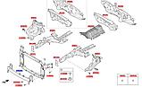 Усилитель переднего бампера киа Спортейдж 4, KIA Sportage 2018- Qle, 64900f1000, фото 5