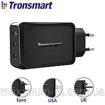 Зарядний пристрій Tronsmart W3PTA 42W Quick Charge 3.0 USB Wall Charger 3-Port