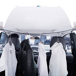 Вешалка шнур для одежды с 4 крючками до 5 кг Baseus Multi Purpose Elastic Clothesline (авто и улица) ACTLS-01