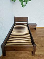 """Односпальная кровать """"Эконом"""" (80х190/200) лесной орех, фото 3"""