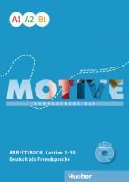 Рабочая тетрадь Motive A1–B1 Arbeitsbuch + Audio-CD