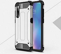 Противоударный чехол с заглушками для Xiaomi Mi9 SE Серый