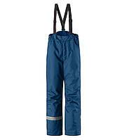 Зимние штаны на подтяжках для мальчиков Lassie by Reima Taila 722733.9-6950. Размеры 92 - 140.