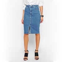Женские джинсовые юбки больших размеров, Турция