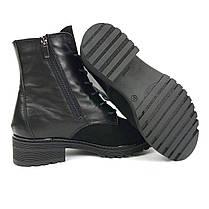 Ботинки черные зимние VUBO, фото 2