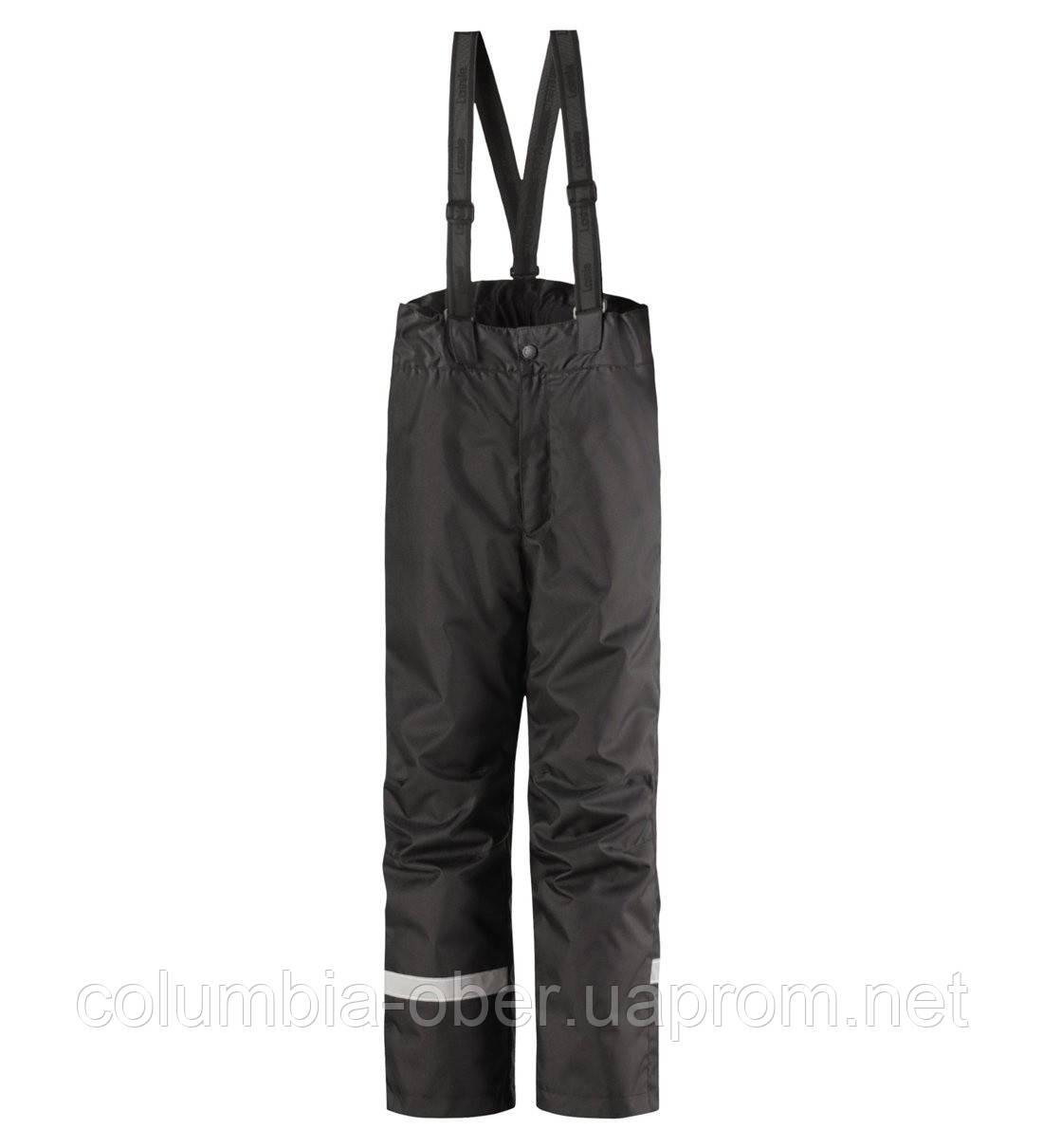 Зимние штаны на подтяжках для мальчиков Lassie by Reima Taila 722733.9-9990. Размеры 92 - 140.