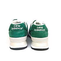 Кроссовки New Balance 574, хаки, мужские, LUX-реплика, фото 3