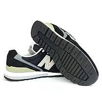 Кроссовки New Balance 996, черные, мужские, LUX-реплика, фото 2