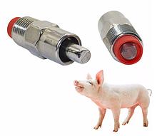 Ниппельные поилки,микрочашечные поилки для свиней, коз ,овец