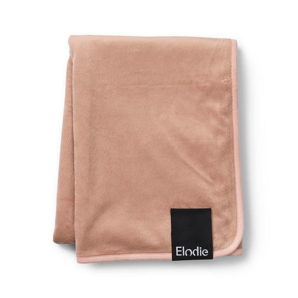 Elodie Details - Детский плед Pearl Velvet Blanket, цвет Faded Rose