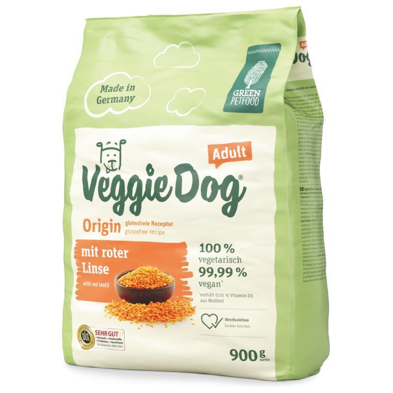 VeggieDog Origin Adult ВеггіДог Оріджин з червоною сочевицею