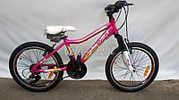 Велосипед детский для девочек Profi care 20