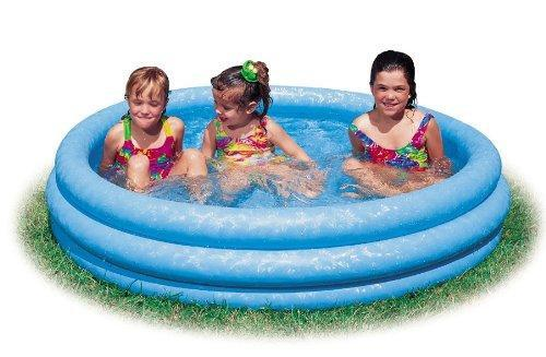 Детский бассейн для дачи и пляжа. Диаметр 120см. 3-RING POOL