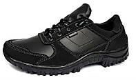 Кросівки чоловічі демісезонні комбіновані, чорні