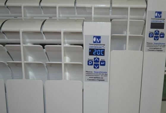 Биметаллическая электробатарея ОптиМаксStandart 1200 Вт
