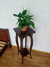 "Подставка для цветов  из дерева ""Азалия"" (лесной орех), фото 2"