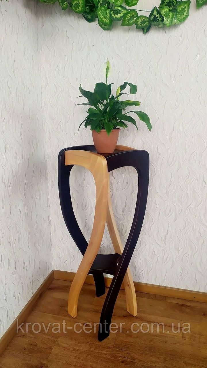 """Подставка для растений """"Адель"""" (двухцветная)"""