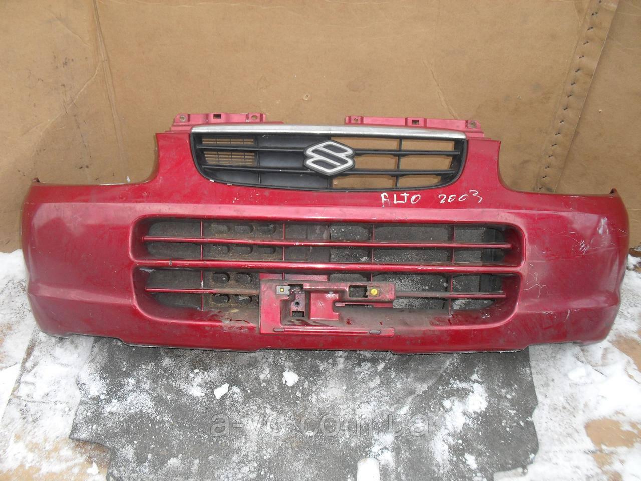 Бампер передний для Suzuki Alto HA12 1998–2000