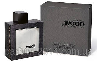 Мужская туалетная вода Dsquared2 He Wood Silver Wind Wood  (реплика)