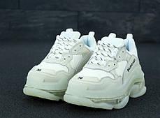 Женские кроссовки в стиле Balenciaga Triple S Clear Sole White (36, 37, 38, 39, 40 размеры), фото 2