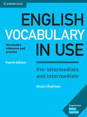 Учебник English Vocabulary in Use 4th Edition Pre-Intermediate/Intermediate + key