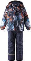Зимний комплект для мальчика Lassie by Reima Raiku 723732.9-6441. Размеры 104 - 140.