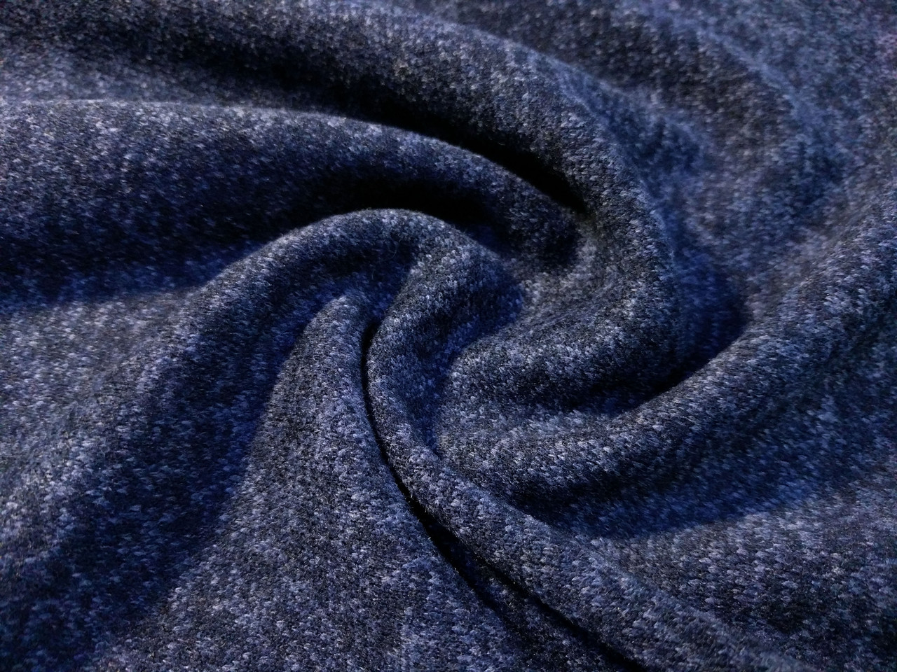Ангора софт с начесом, темно-синий
