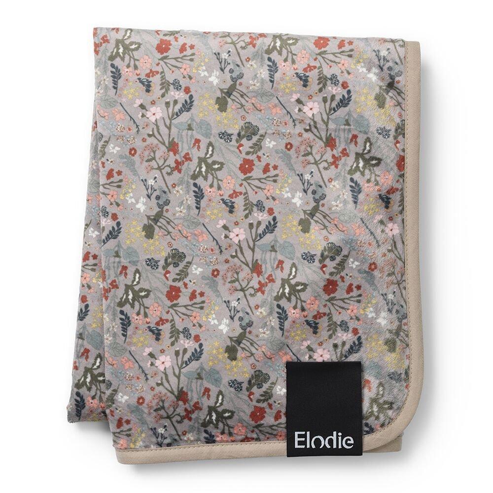 Elodie Details - Детский плед Pearl Velvet Blanket, цвет Vintage Flower