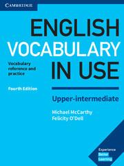 Учебник English Vocabulary in Use 4th Edition Upper-Intermediate + key