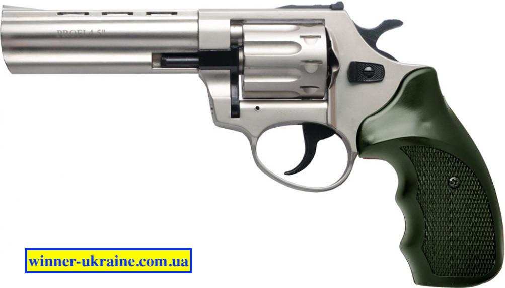 "Револьвер под патрон Флобера Profi - 4,5"" (сатин пластик)"
