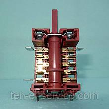 Переключатель мощности духовки 6-зонный Gottak (7LA 820510) с креплением под терморегулятор 16A/250V