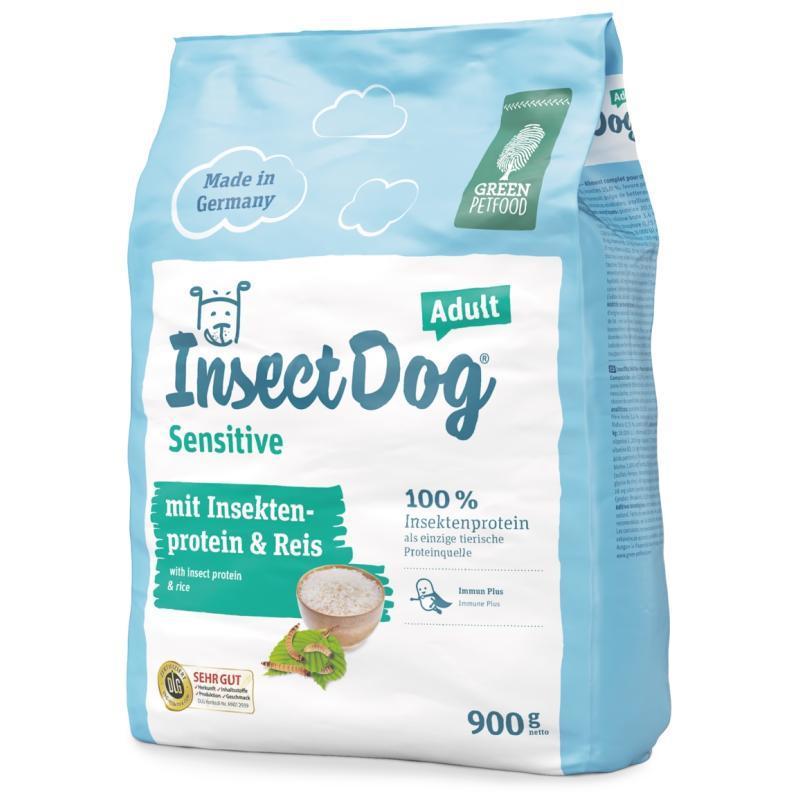 InsectDog Sensitive Adult ІнсектДог Сенсітів з протеїном комах і рисом