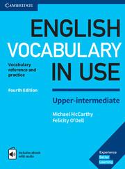 Учебник English Vocabulary in Use 4th Edition Upper-Intermediate + eBook + key