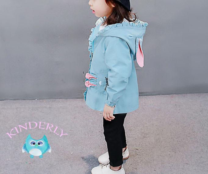Дитяча курточка, вітровка з вушками Q. S. X (зростання 90)