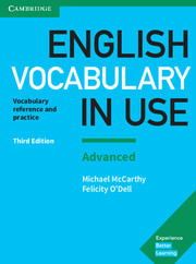 Учебник English Vocabulary in Use 3rd Edition Advanced + key