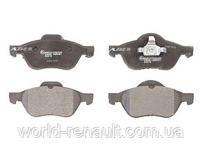 Комплект передних тормозных колодок Рено Лагуна II / ABE C1R019ABE