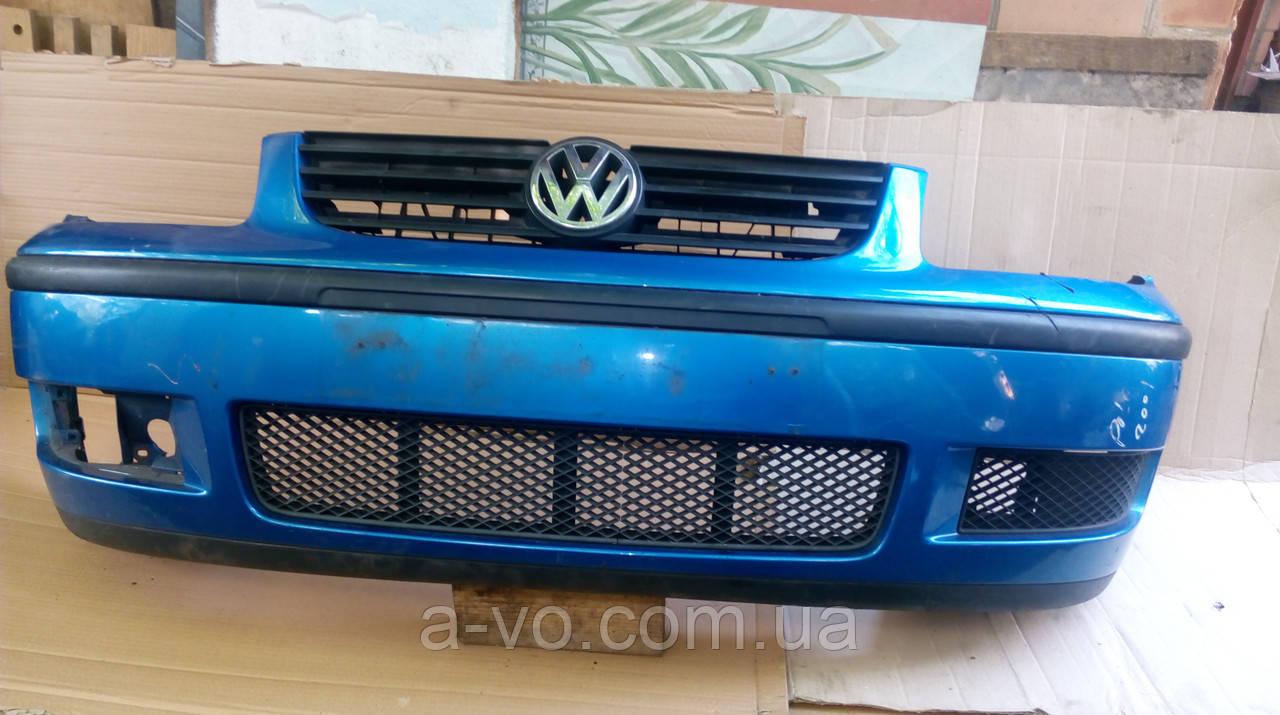 Бампер передний для Volkswagen Polo 3 6N2, 6N0807221H (1999—2001)