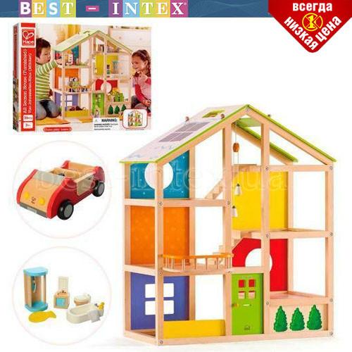 Деревянная игрушка Домик MD 2006