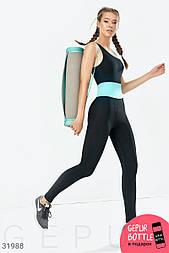 Тренировочный спортивный комбинезон для фитнеса