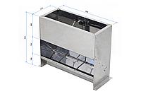 Бункерная кормушка для подсосных поросят КБ-1 односторонняя