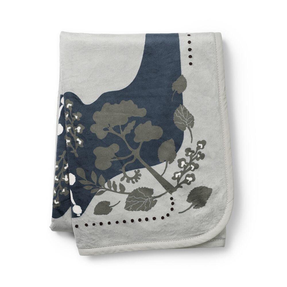 Elodie Details - Детский плед Pearl Velvet Blanket, цвет Rebel Poodle Mineral Green
