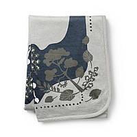 Elodie Details - Детский плед Pearl Velvet Blanket, цвет Rebel Poodle Mineral Green, фото 1