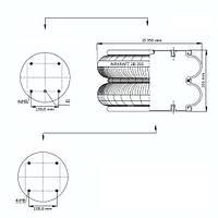 Пневматична ресора Airtech
