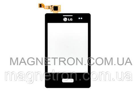 Сенсорный экран (тачскрин) для мобильного телефона LG E400 Optimus L3 EBD61365502