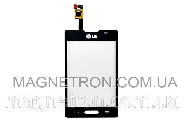 Сенсорный экран (тачскрин) для мобильного телефона LG E440 Optimus L4 II EBD61605202, фото 2