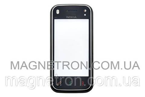 Сенсорный экран (тачскрин) с передним корпусом для телефона Nokia Mini N97