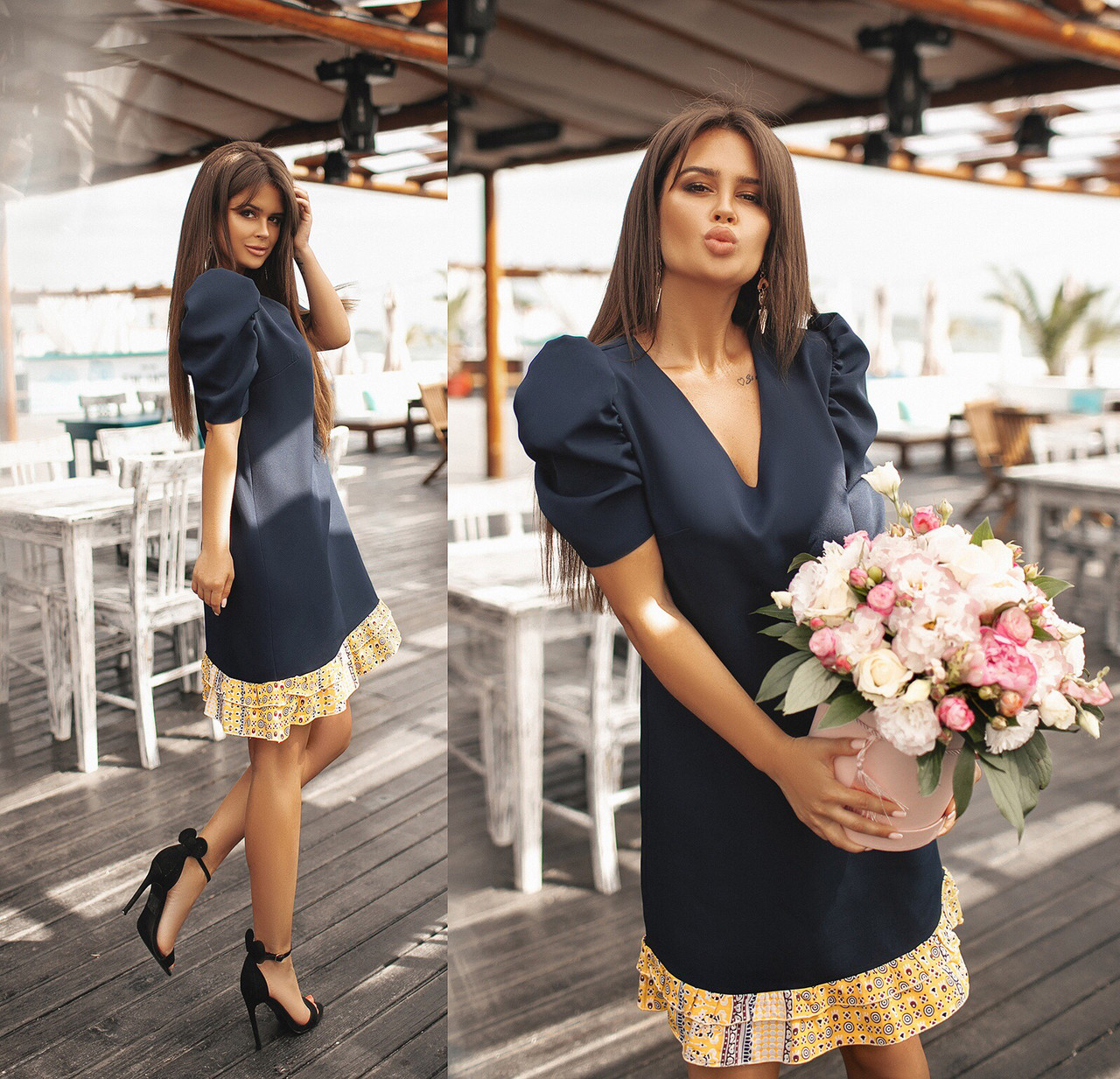 Платье стильное женское 42-44; 44-46; 48-50; 52-54; 56-58