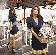 Платье стильное женское 42-44; 44-46; 48-50; 52-54; 56-58, фото 1