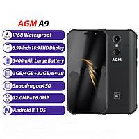 Защищенный мобильный телефон AGM  A9  JBL 4+32gb, фото 1